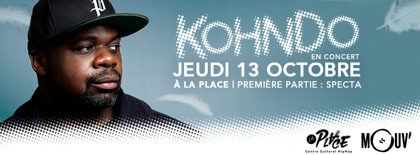 En concert le 13 octobre à La Place (Paris)